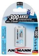 ANSMANN - nabíjecí baterie NiMH 250 mAh 9 V MaxE