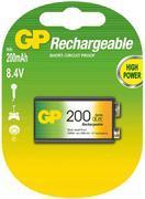 Nabíjecí baterie GP NiMH 200 mAh 9 V