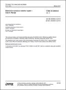 ČSN 33 2000-6 ed. 2 - Elektrické instalace nn - Část 6: Revize
