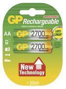 Nabíjecí baterie GP NiMH 2700 HR6 (AA), 2 ks