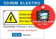 CD-ROM ELEKTRO verze 39 + kamera do auta
