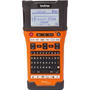 BROTHER PT-E550WVP - tiskárna čár. kódů, textů a el. značek + potisk bužírek+WiFi