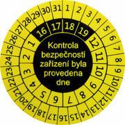 IP9081 - štítky pro označování kontrol svářeček (10 ks)