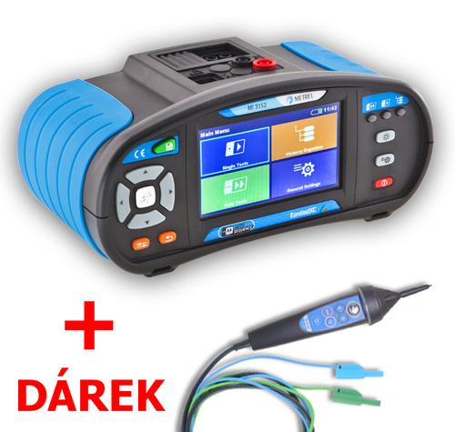 METREL Eurotest XC EU (MI 3152) - revize instalací a hromosvodů + barevný dotykový displej - 1