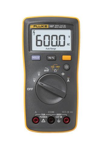 FLUKE 107 ESP - Digitální multimetr U (ss/st), I(ss/st), odpory, kapacita, diody - 1