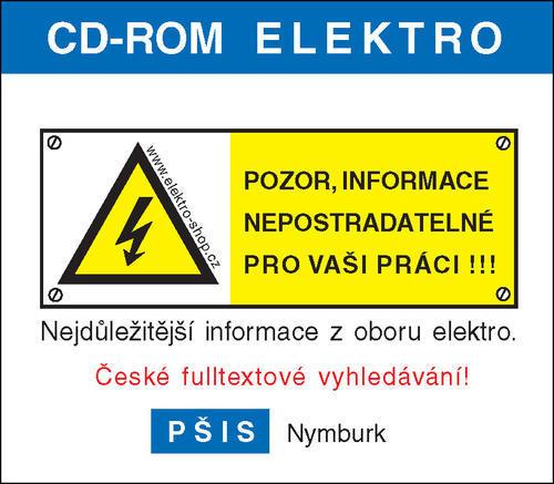 CD-ROM ELEKTRO verze 45