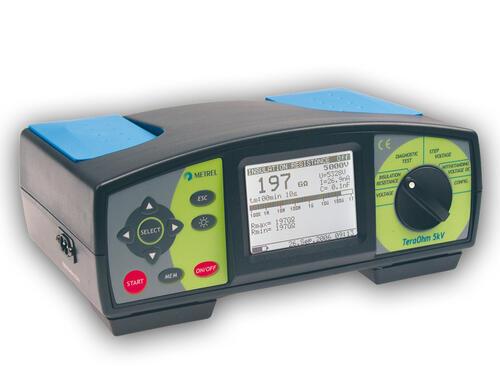 METREL TeraOhm 5kV (MI2077) - měřič izolačních odporů napětím až 5 kV - 1