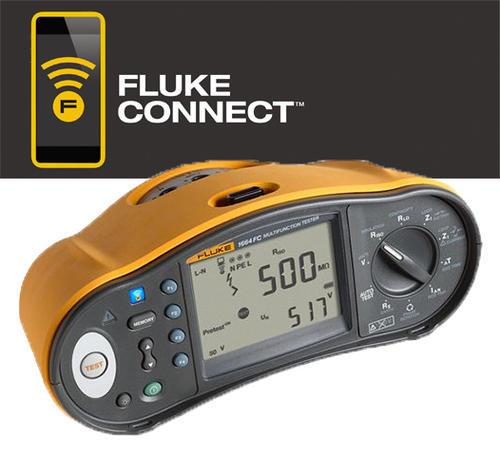 FLUKE 1664FC - revize instalací, hromosvodů a RCD A/AC/B + Fluke Connect - 1