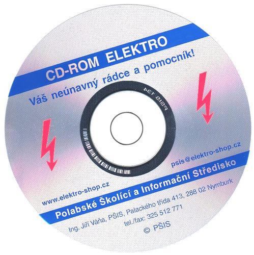 Aktualizace CD-ROM ELEKTRO verze 45 (pouze pro vlastníky libovolné předchozí verze)