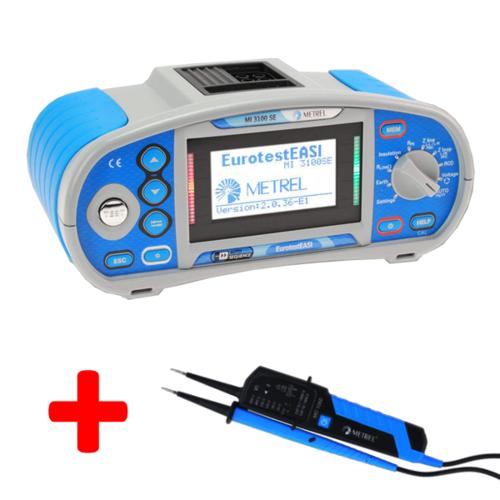 METREL Eurotest EASI SE (MI3100 SE) - revize instalací a hromosvodů - 1