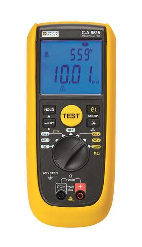 C.A 6528 - digitální měřič izolačních a přechodových odporů - 1