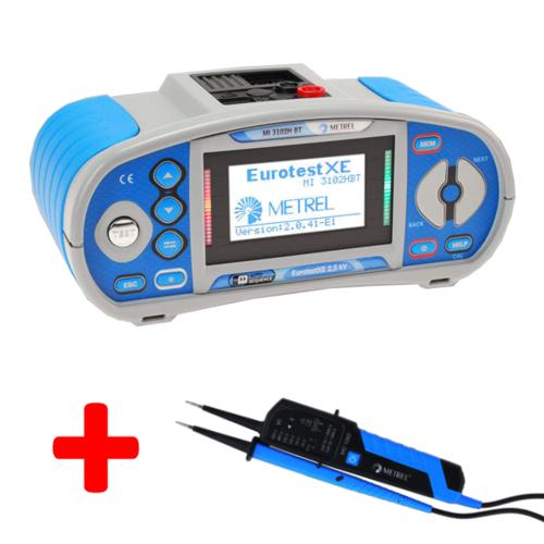 METREL Eurotest XE 2,5 kV BT (MI3102H BT) - revize instalací a hromosvodů + bluetooth - 1