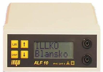 ALF 10 - měřič pospojování 10 A