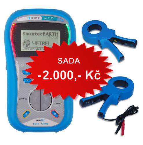 SADA Smartec - zemní odpory (MI3123 + A1018 + A1019) - 1