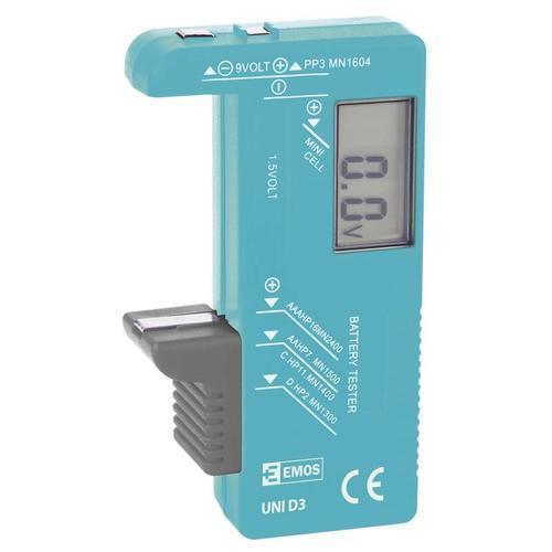 UNI D3 - univerzální LCD tester baterií - 1