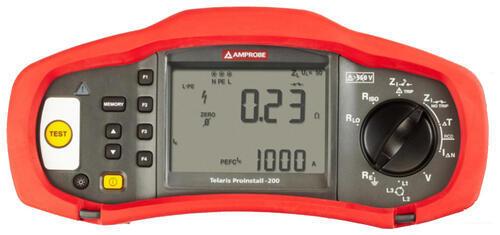 BEHA AMPROBE - Telaris ProInstal 200 - revize instalací a uzemnění - 1