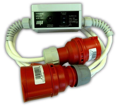 IP8012 - třífázový adaptér - 16A/4 pro přístroje REVEX - 1