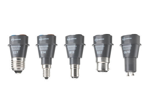 BEHA AMPROBE ADPTR-KIT-EUR - Sada adaptérů do patic B15, B22, E14, E27, GU10 s pouzdrem - 1