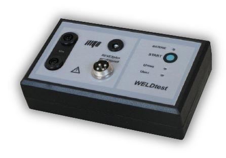WELDtest - adaptér pro měření napětí svařovacího obvodu dle požadavků ČSN EN 60974-4  - 1
