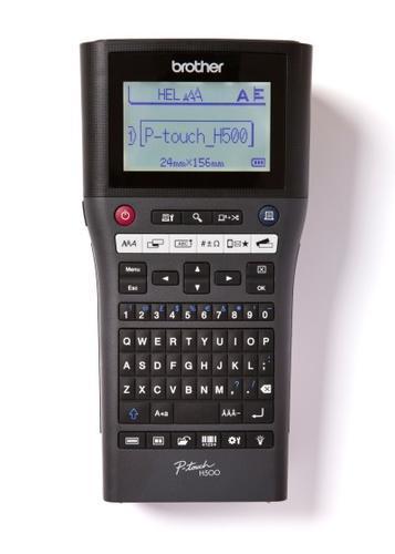BROTHER PT-H500 - tiskárna čár. kódů, textů a el. značek na laminovanou samolepící pásku - 1