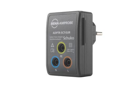 BEHA AMPROBE ADPTR-SCT-EUR - Adaptér pro připojení bezpečnostních banánků v zásuvce - 1