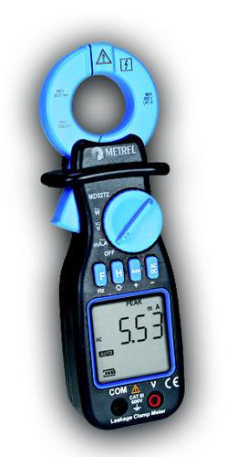 MD 9272 - klešťový měřič unikajících proudů - 1