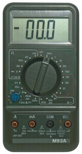 M92A - multimetr - 1