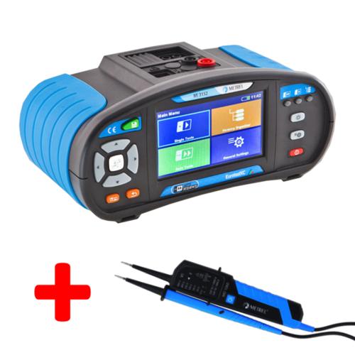 METREL Eurotest XC ST (MI 3152) - revize instalací a hromosvodů + barevný dotykový displej - 1