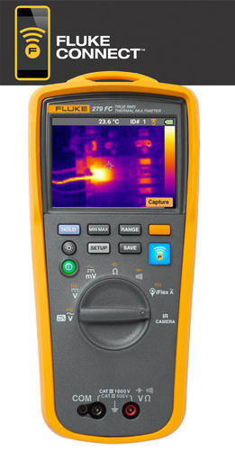 FLUKE 279 FC - termální multimetr termokamera (80x60), I(AC), U(AC), R, Hz, kapacita - 1