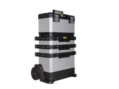 FatMax kovoplastový pojízdný montážní box - 1