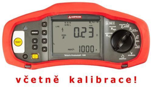 BEHA AMPROBE - Telaris ProInstal 100 - revize instalací (kalibrace v ceně přístroje) - 2