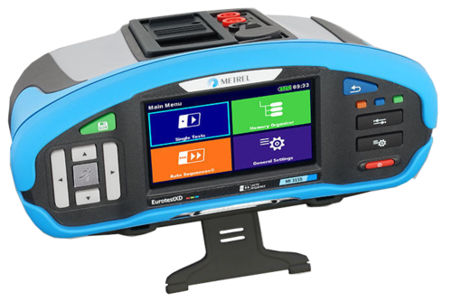 METREL Eurotest XD ST (MI 3155) - revize instalací a hromosvodů + barevný dotykový displej - 2