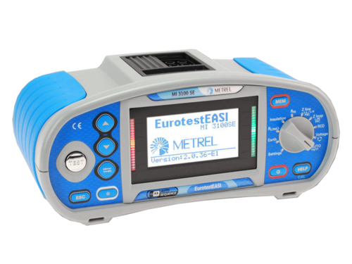 METREL Eurotest EASI SE (MI3100 SE) - revize instalací a hromosvodů - 2