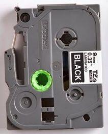 TZe-325 - černá/bílý tisk, 9 mm - 2