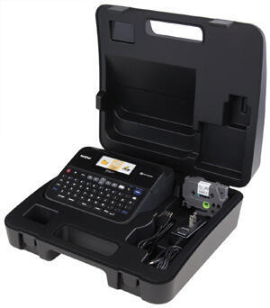 BROTHER PT-D600VP - tiskárna čár. kódů, textů a el. značek na laminovanou samolepicí pásku - 2