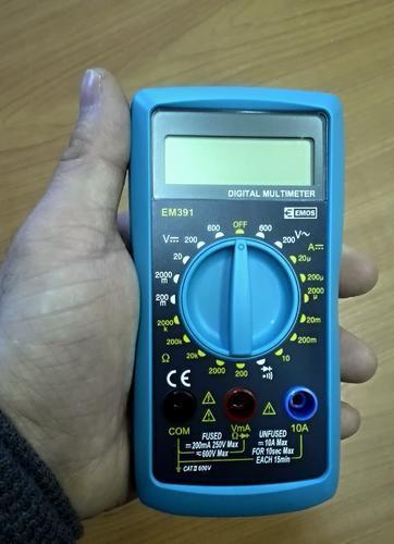 EM391 - multimetr - 2