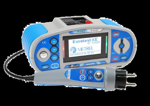 METREL Eurotest XE BT (MI 3102 BT) - revize instalací a hromosvodů + bluetooth - 2