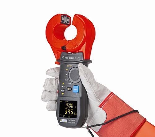 C.A 6416 - klešťový měřič uzemnění a proudů - 2