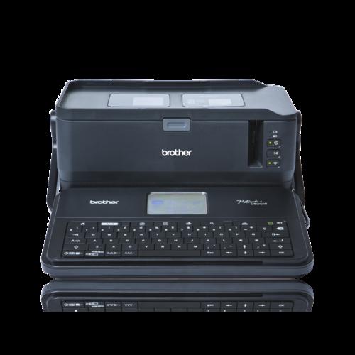 BROTHER PT-D800W - tiskárna čár. kódů, textů a el. značek na laminovanou samolepící pásku - 2