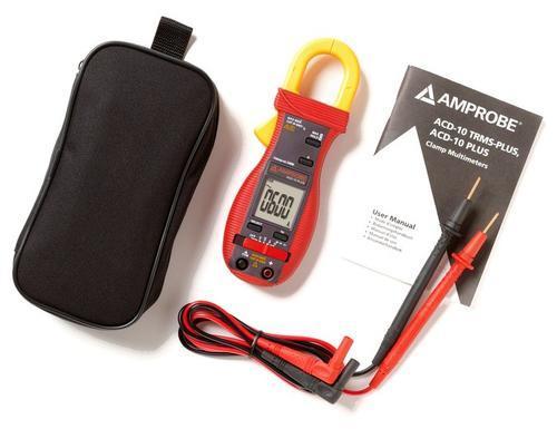 BEHA AMPROBE ACD-10 plus KIT - klešťový multimetr + digitální multimetr (AM-500-EUR) - 2