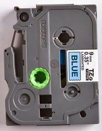 TZe-521 - modrá/černý tisk, 9 mm - 2