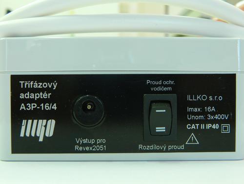 IP8012 - třífázový adaptér - 16A/4 pro REVEXplus a REVEXprofi (II) - 2