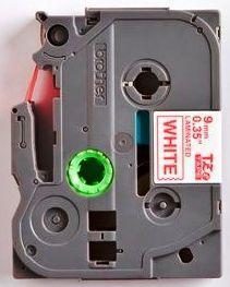 TZe-222 - bílá/červený tisk, 9 mm - 2