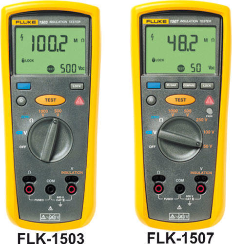 FLUKE 1503 - digitální měřič izolačních a přechodových odporů - 2