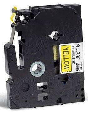 TZe-FX621 - žlutá/černý tisk, flexibilní, 9 mm - 2