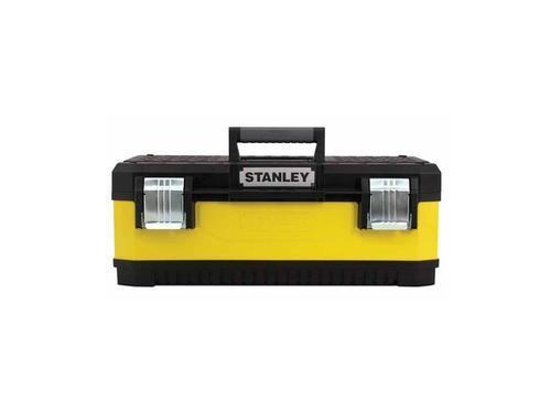 "STANLEY kovoplastový box na nářadí - žlutý, 23"" - 2"