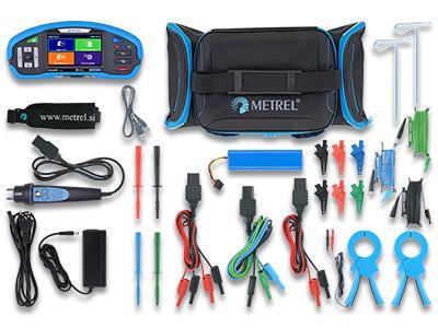 METREL Eurotest XD EU (MI 3155) - revize instalací a hromosvodů + barevný dotykový displej - 2