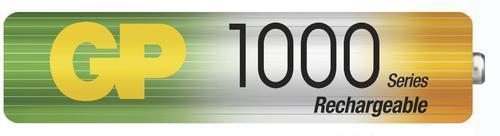 Nabíjecí baterie GP NiMH 1000 HR03 (AAA), 2 ks  - 2
