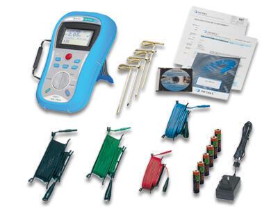 METREL Smartec Earth/Clamp (MI3123) - měřič uzemnění - 2