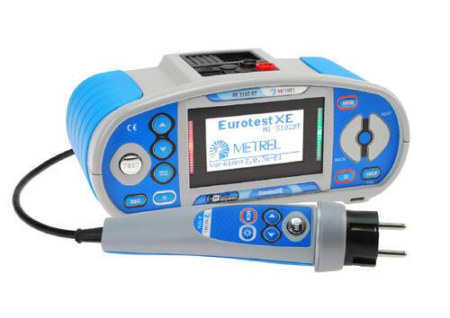 EurotestXE BT, kleště A1018 a A1019, WinRevize - 2